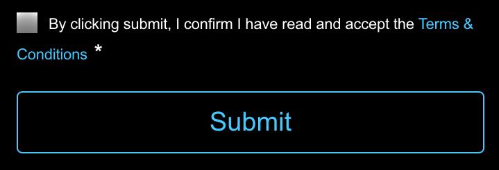 Registration TC iOS